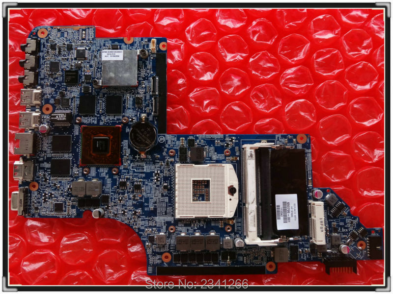 ФОТО 650799-001 for HP PAVILION DV6-6000 NOTEBOOK for HP PAVILION DV6T-6000 laptop motherboard HM65 HD6770/2G 100% Tested