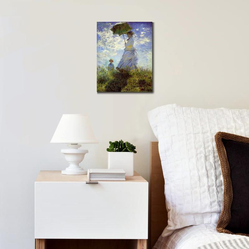 Hecho a mano famosas pinturas al óleo de Claude Monet reproducción ...