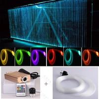 Vender Cortina de luz de fibra óptica led de coste de china para decoración de fiesta de