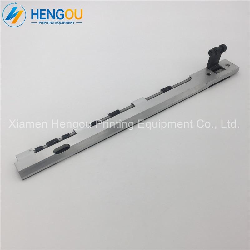 2 pcs free shipping T-1304F gripper bar 10x15 gripper bar heidelberg T-Platen press offset printing machinery parts Length 353mm