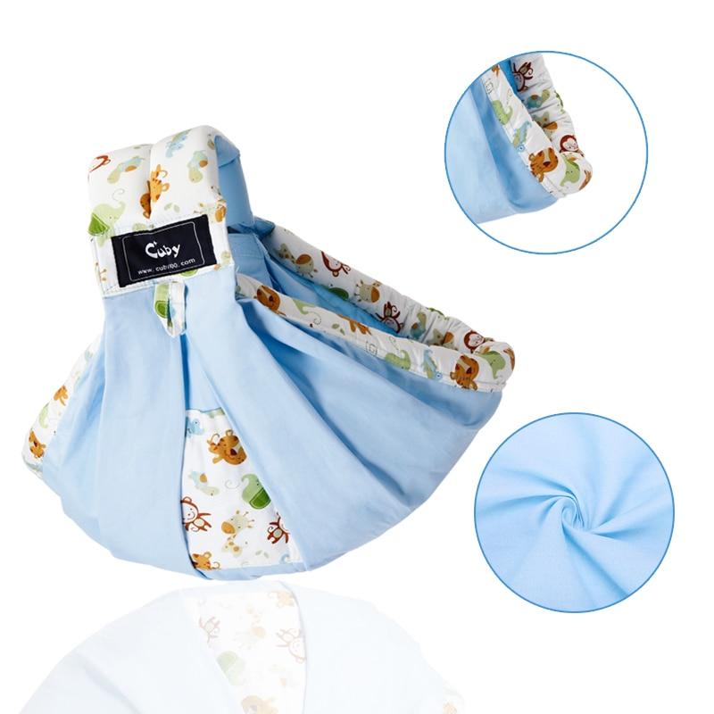 Cuby Baby Carrier Sling Wrap Cotton Hands-free Baby Sling para - Actividad y equipamiento para niños - foto 2