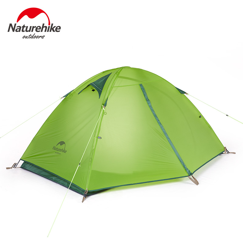 Backpacking Tent 2 Person 3 Season Weatherproof Double Layer Large Space Aluminum Rod for Outdoor Camping Hunting Hiking Travel hot outdoor camping double layer 2 person aluminum rod tent waterproof windproof high strength camping tent