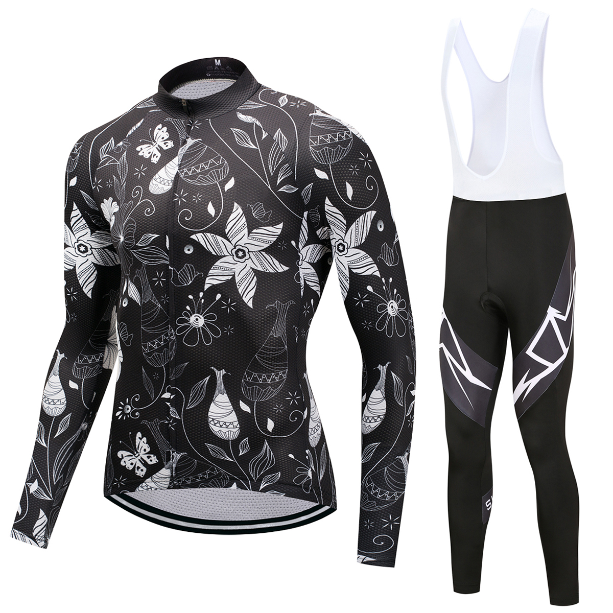 SUSHAN 2018 Pro Flier Winter Thermische Fleece Radtrikot Set Long Sleeve Fahrrad Kleidung MTB Bike Wear Maillot Ropa Ciclismo
