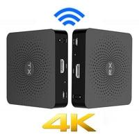 Measy W2H 4 К 30 м HDMI Беспроводной Extender аудио видео передатчик Отправитель Получатель ТВ трансляции адаптер для ПК ТВ коробка DVD DVR IP ТВ