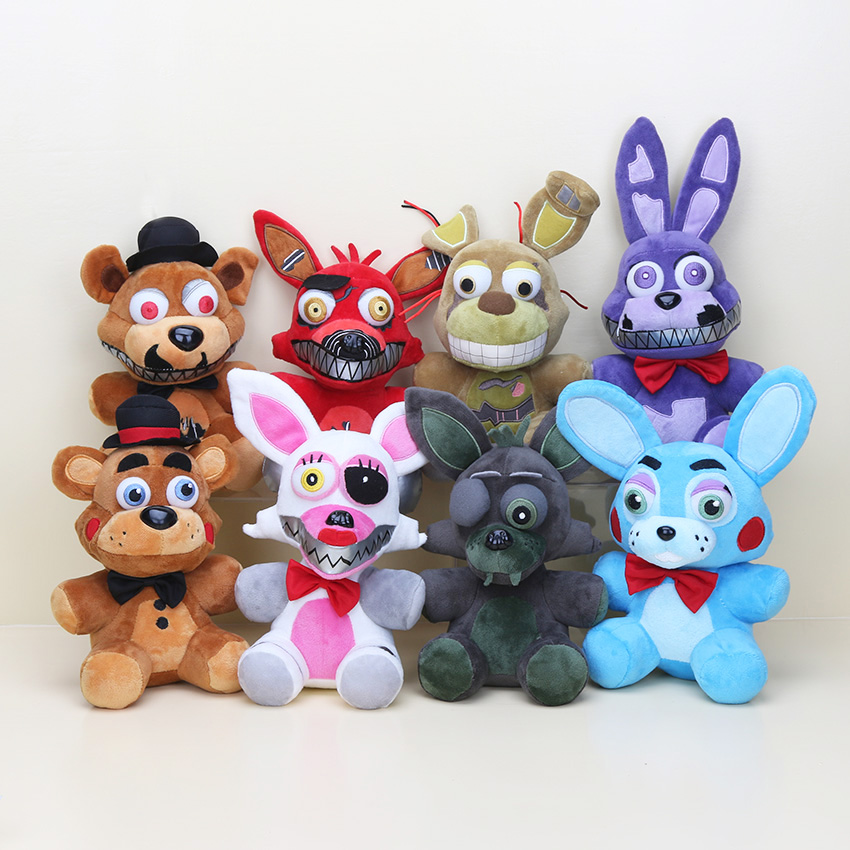 8pcs/set Five Nights At Freddy's 5 FNAF Plush Toys 10