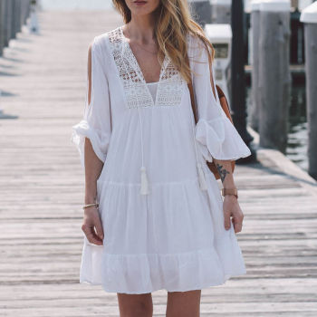 Beach Cotton Tunic Sarong