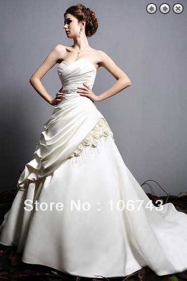 free shipping 2018 vestido de noiva debutante bridal gown bride victorian gowns beaded mother of the bride dresses with train