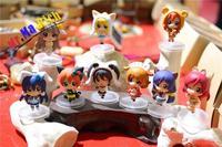 LoveLive Maki Nishikino Kotori Minami Animal Nendoroid Figure Figurine No BOX
