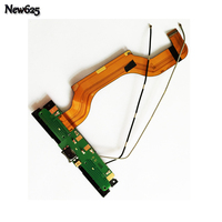 New For Nokia Lumia 1520 Micro USB Charging Port Dock Connector With Antenna Flex Cable Board