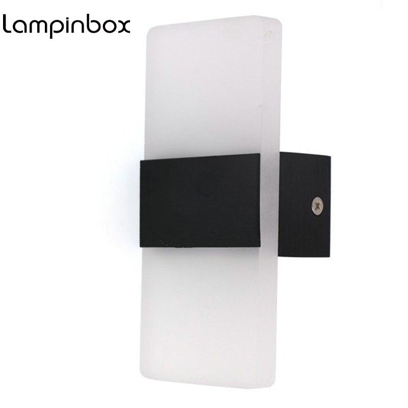 3W Mini Led Wall Light  Acrylic Minimalist Bedroom Bedside Lamp Corridor Hallway Wall Lamp Corner light night light  LP84