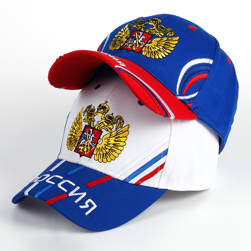 TUNICA Brand 100% cotton 2017 man baseball cap Russian national flag embroidery Snapback fashion hat male and female Patriot hat