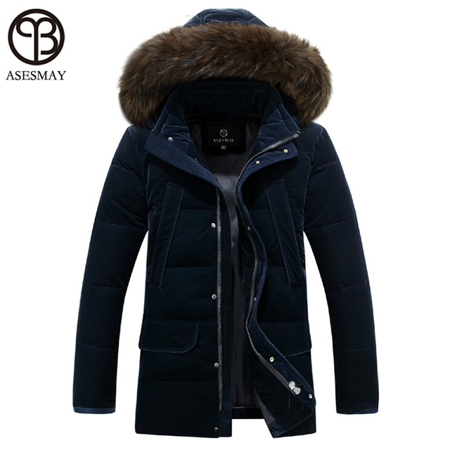 Aliexpress.com : Buy Asesmay Brand White Duck Down Jacket Men ...