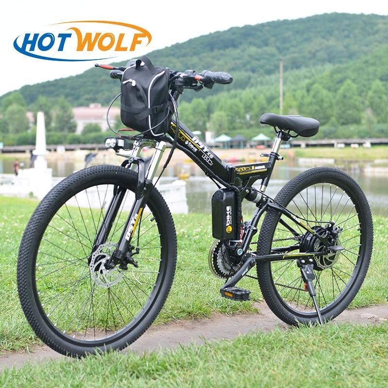 Elektrische Fahrrad Leistungsstarke Elektrische Fahrrad front tasche 48 v 12AH 500 watt berg eBike 24 Geschwindigkeit Elektrische Fahrrad Russland freies verschiffen