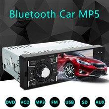 KROAK 4.1inch HD Bluetooth Screen Car Auto Stereo Audio MP5 MP4 MP3 Player AUX FM Radio