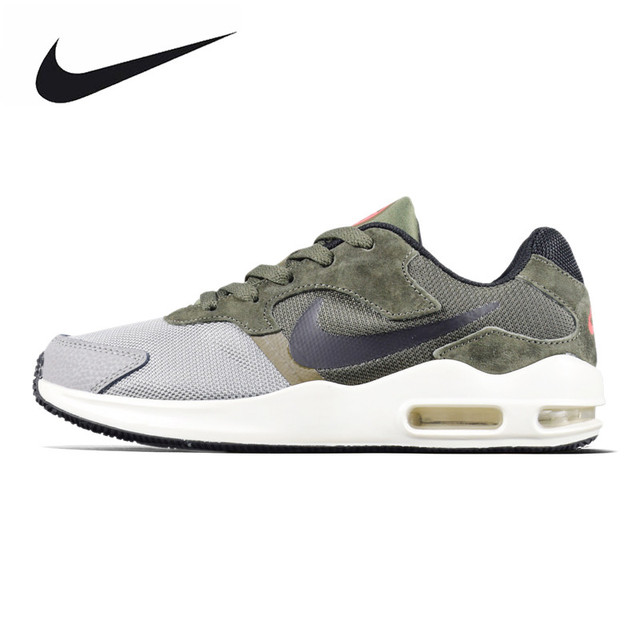19bcdbf9b9771 US $135.17 34% OFF|Original Authentic NIKE AIR MAX GUILE Men's Running  Breathable Lightweight Shoes, Army Green/Black, Shock absorbing 916768-in  ...