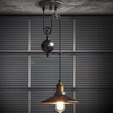nordic loft retro industrial wind pulley lift pendant light  Restaurant Bar droplight nordic loft retro industrial wind pulley lift pendant light  Restaurant Bar droplight