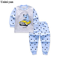 children spring autumn baby boys clothing sets cartoon 2pcs cartoon clothes sets girls spring set kids tracksuit toddler set