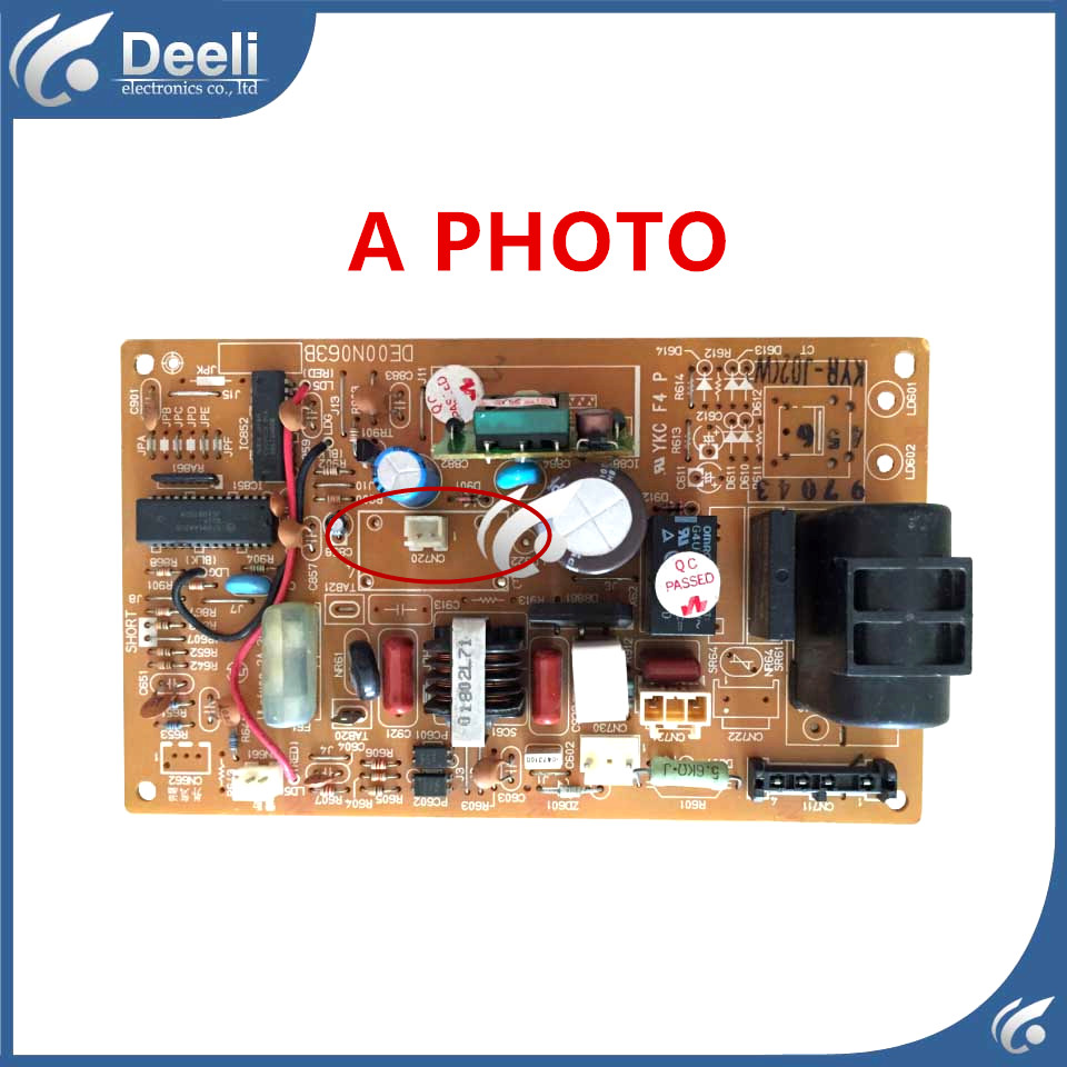 95% new good working for air conditioning Computer board DE00N063B control board used board цены