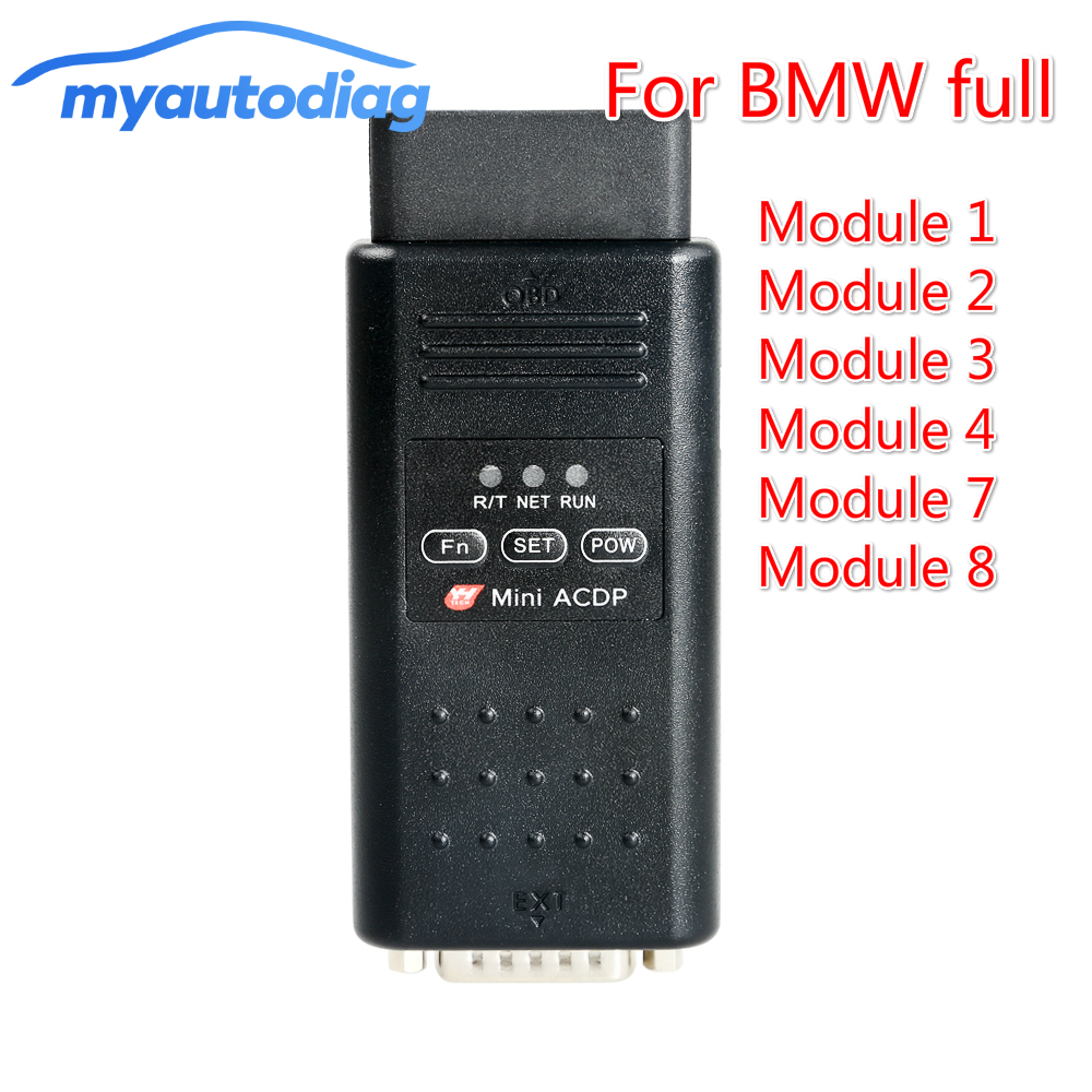 Yanhua Mini ACDP For BMW Programming Full Set ---CAS, FEM,BDC,DEM,ISN And 35 Series,Refresh Key, FRM Module.