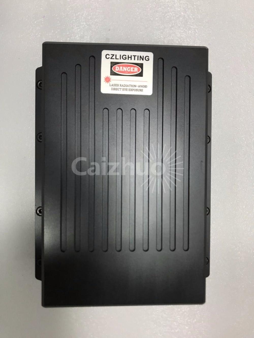 High power laser module 8W RGB Analog modulation /white 8W/Stage light full color laser