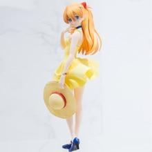원래 그림 Soryu 아스카 Langrey 여름 드레스 PVC 액션 피규어 섹스 소녀 모델 컬렉션 장난감