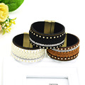 Women Summer Bangle High Quality Bohemia Three Color Bracelet Wide Bangles Fine Jewelry Cuff Bracelets