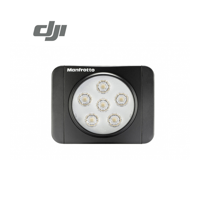 DJI Osmo Manfrotto Lumie Art LED 라이트는 모든 osmo 시리즈와 호환됩니다.