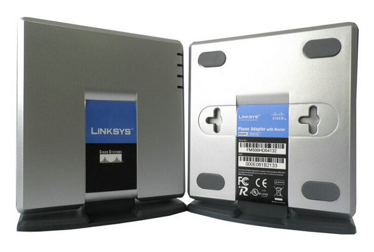 Free-Shipping-totally-new-original-Linksys-SPA-2102-VOIP-adapter-Router-multifunction-with-retail-box-and