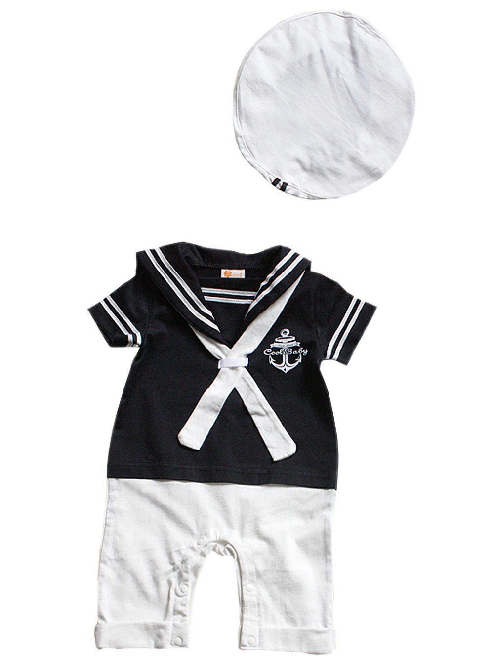 e677c653454e Baby Boy Clothes 6 12 12 18 18 24 Months Navy Hats Rompers Infant ...