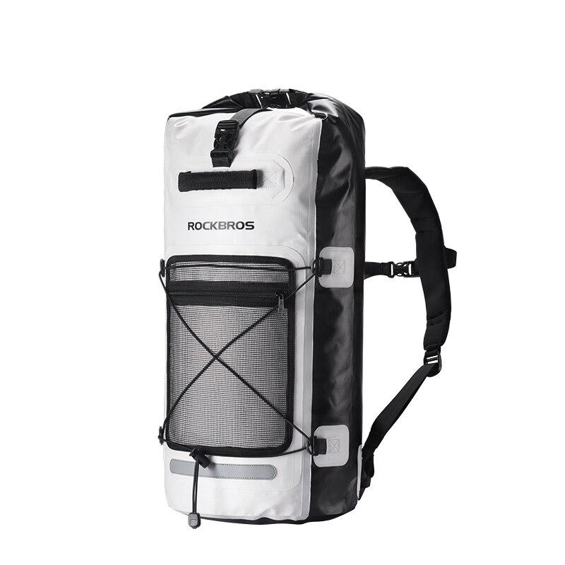 28L sac à dos imperméable à l'eau imperméable extérieur sac à dos sac à dos pour Camping rivière Trekking randonnée sacs à dos étanche à l'eau