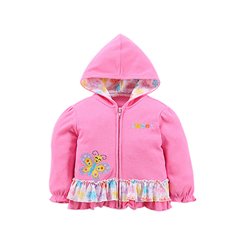 2018 baby boys girls hooded sweatshirts cotton cartoon tops truck flower whale out wear kids clothes for newborn 3m-18m 4
