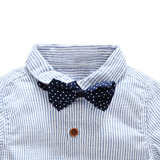 Baby boy clothing sets (tie shirt and overall)