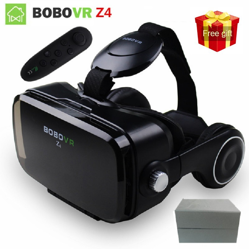 BOBOVR Z4 Vr Glasses Virtual Reality Glasses Mobile 3D VR Video Glasses Helmet Cardboard VR Headset For 4.7-6.2 smartphone image