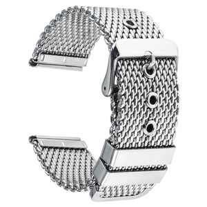 Image 3 - Stainless Steel Watch Band 20mm 22mm 24mm for Citizen Pin Buckle Strap Link Wrist Belt Bracelet Black Silver + Spring Bar + Tool