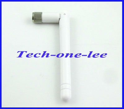 2pcs 2.4GHz WIFI Antenna 2dBi-3dbi Aerial RP-SMA connector Omni White for Wireless Router Rubber