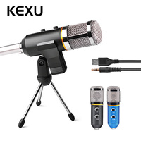 MK F200TL Professional Microphone USB Condenser Microphone for Video Recording Karaoke Radio Studio Microphone for PC Computer