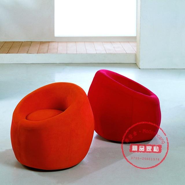 Red Lounge Chair Chiavari Company Cool Booth Soft Bag Sofa Fabric Living Room Stool Small Pier