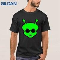 Alien Hoofd Ruimte Movie Raglan Ful Goedkoopste Verkoop Zwarte T-shirts Tee Shirt Hip Jersey Mannen