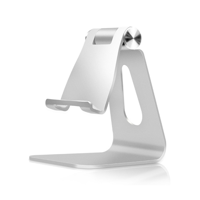 Portable Foldable Adjustable Tablet Stand Cell Phone Holder Aluminum Cradle Rotating Tablet Holder for iPad iPhone HW01