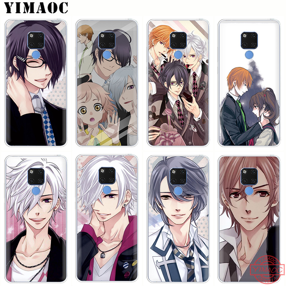 Yimaoc Anime Brothers Conflict Soft Silicone Phone Case For Apple Iphone Xs Max Xr X S Plus 5s Se Tpu Cover