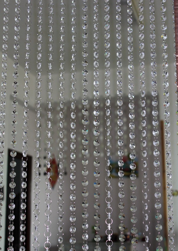 Klasse kristallperle vorhänge, 14 mm kristall perlen, alle
