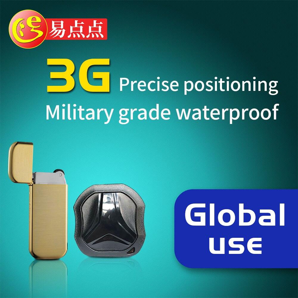 E 3G109 Mini 3g Car Positioning Tracker Super Waterproof Precision Positioning Pet Anti-lost Car Anti-theft GPS Tracker