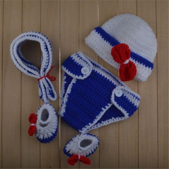 ab8b75fc84b12 Товар Latest Crochet Baby Cartoon Costume Knitted Newborn Baby ...