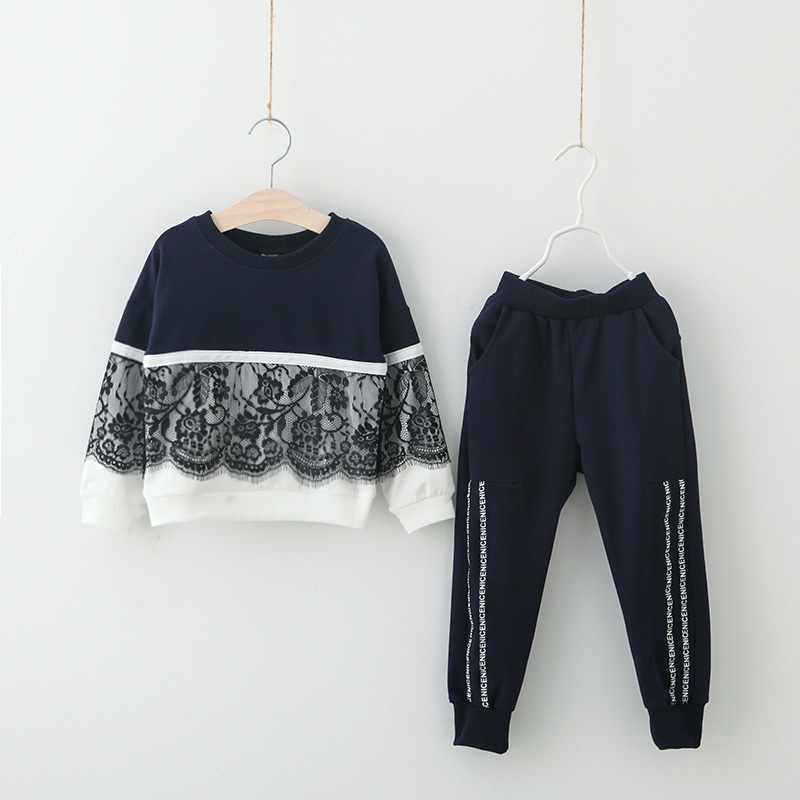 Toddler Lady Clothes Set Spring Youngsters Garments Children Sport Fits Ladies Garments Units Lengthy Sleeve Tracksuits For Ladies Costumes Clothes Units, Low cost Clothes Units, Toddler Lady Clothes Set...