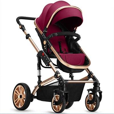 2018 popular design baby stroller High View Prams baby bassinet with adjustable handle orbit baby люлька колыбель orbit baby g3 bassinet