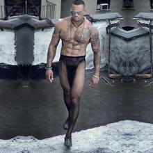 Męskie rajstopy nylonowe męskie seksowne pończochy męskie gejów męskie rajstopy pończochy kabaretki męskie seksowne wielokolorowe Body tight męskie rajstopy tanie tanio Egzotyczne odzież Stałe Dzianiny y3390 HIMEALAVO