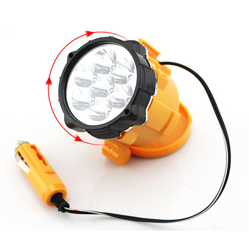Magnétique Projecteur de travail DEL pour allume-cigare voiture-Lampe de travail