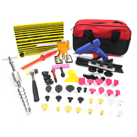 Paintless Dent Repair Tools Dent Removal Car Body Repair Kit Slide Hammer Glue Tabs For DIY