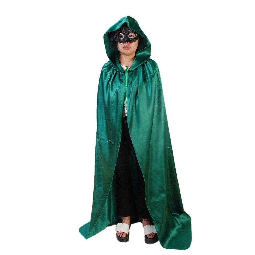 Halloween Cosplay Cloak Kid Adult Deathe Wizard Devil Cosplay Cloak Halloween Cosplay Costumes Carnival Disguisement 110cm 150CM