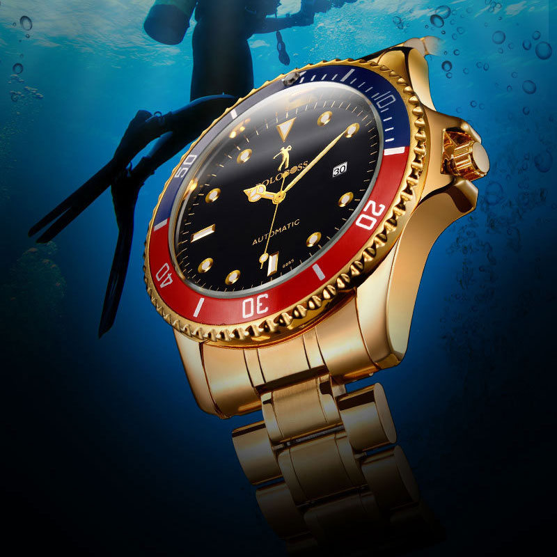Waterproof Role Luxury Men Automatic Watch Self Wind Mechanical Watches Famous Brand Big Dial Wristwatch Male Clock Skeleton women favorite extravagant gold plated full steel wristwatch skeleton automatic mechanical self wind watch waterproof nw518